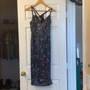 Rachel Roy sequin flower midi dress - Size 2